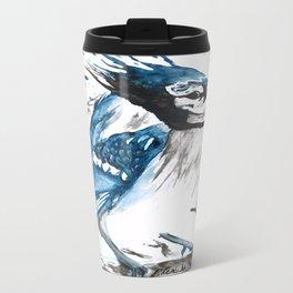 True Blue Jay Travel Mug