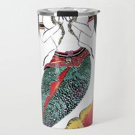 Mermaid Buddah Travel Mug