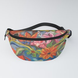 Blooms Bustin' Out Fanny Pack