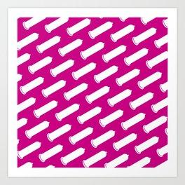 LYC Condom Pyjama Top - Pink Art Print