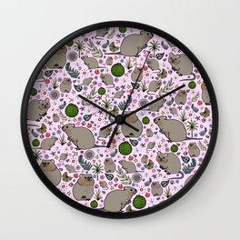 Quokkas Wall Clock