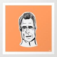 Roger Sterling Art Print