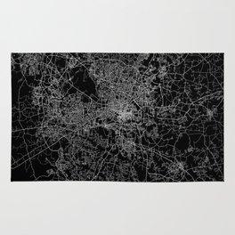 raleigh map north carolina Rug