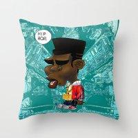 hip hop Throw Pillows featuring Hip-Hop. by BbStarD