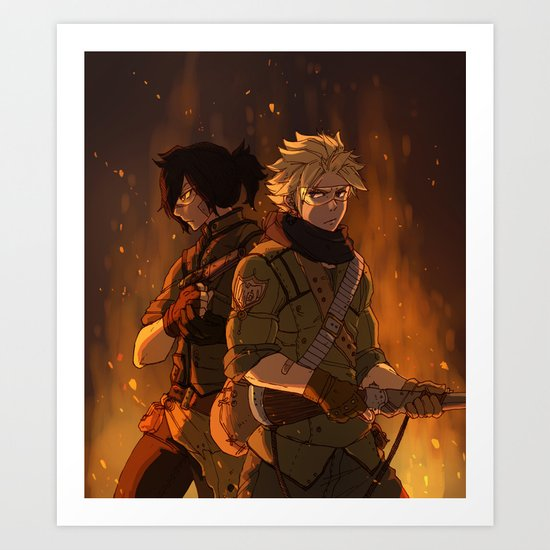 Brothers In Arms Art Print