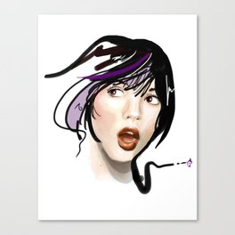 Say A!!! Canvas Print