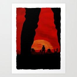 """Redemption Is Dead"" Art Print"