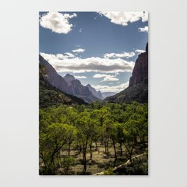 Lush Valley Canvas Print