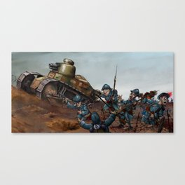 The Advance Canvas Print