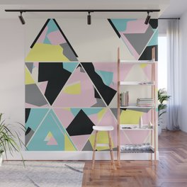 triangle no.3 / with love Wall Mural