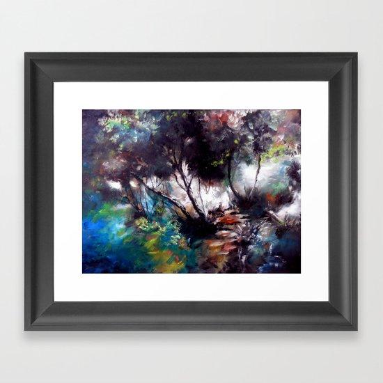 çaglayan Framed Art Print