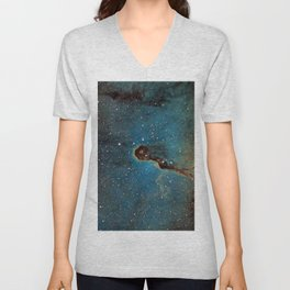 The Elephant Trunk Nebula Unisex V-Neck