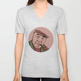 Pablo Neruda Unisex V-Neck