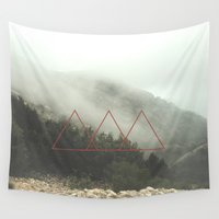 spanish Wall Tapestries featuring Spanish Fog by EXIST lifestyle