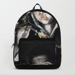 El Greco - An Allegory with a Boy Lighting a Candle in the Company of an Ape and a Fool (Fabula) Backpack