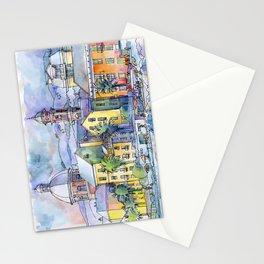 Pegli dal mare Stationery Cards