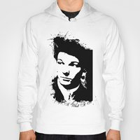 louis tomlinson Hoodies featuring Louis Tomlinson by Aki-anyway