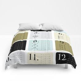 TIMES TABLE - KHAKI Comforters
