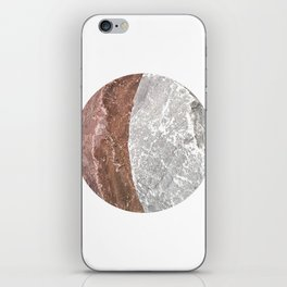 Planetary Bodies - Crescent Rock iPhone Skin