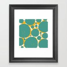 Alveoli Framed Art Print
