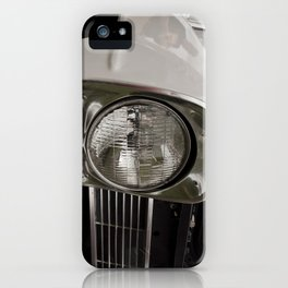 Vintage Car 9 iPhone Case