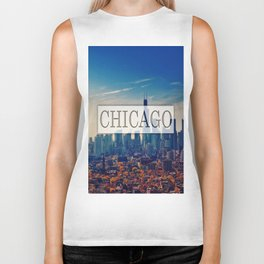 Chicago City Biker Tank