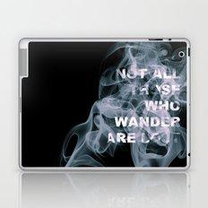 Smoke Quote Laptop & iPad Skin