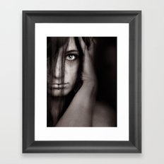 Don't follow me Framed Art Print