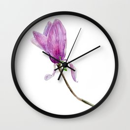 Other magnolia flower Wall Clock