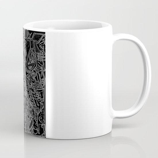 White/Black #1 Mug