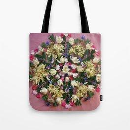 June Nature Mandala Tote Bag