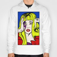 lichtenstein Hoodies featuring ARTPOP by Alli Vanes