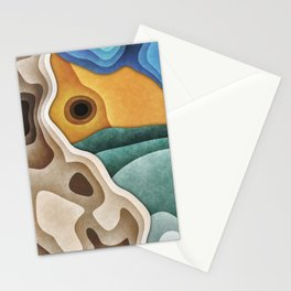 Landscape of Layers Stationery Cards