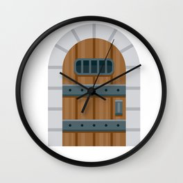 Dungeon Wall Clock