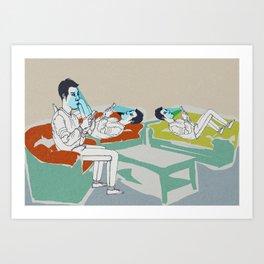 smart ZOMBIE series-3 Art Print