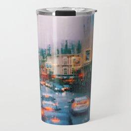 Beautiful traffic lights in london Travel Mug