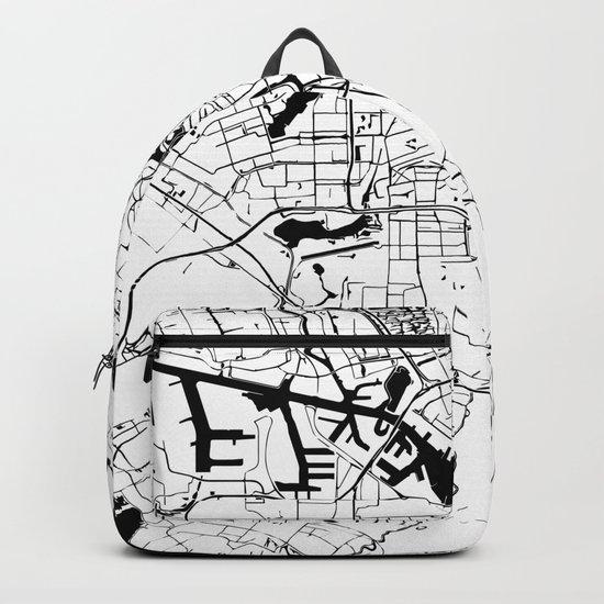 Amsterdam Minimal Map Backpack