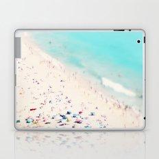 beach love III square Laptop & iPad Skin