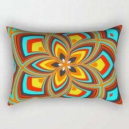 Spiral Rose Pattern C 2/4 Rectangular Pillow