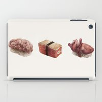 in the flesh iPad Cases featuring Fresh Flesh by Corinne Reid