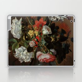 "Jacob Marrel ""Flowers in a glass vase"" Laptop & iPad Skin"
