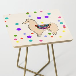 Party Llama Side Table