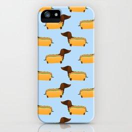 Wiener Dog in a Bun iPhone Case