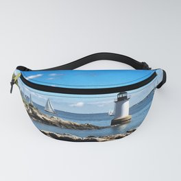 Winter Island Lighthouse Fanny Pack