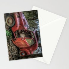Old red Stationery Cards