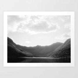 Lac aux Américains Art Print
