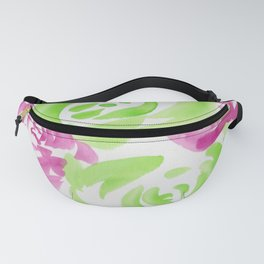7  |  190413 Flower Abstract Watercolour Painting Fanny Pack