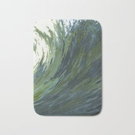Big Pacific Ocean Wave Bath Mat