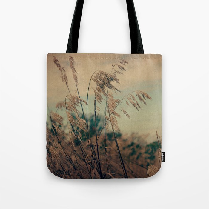 Winter Field Tote Bag