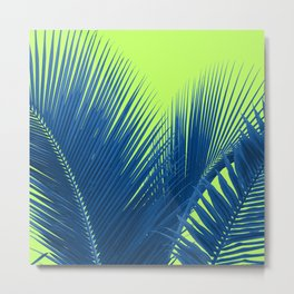 Let's Go Lime Metal Print
